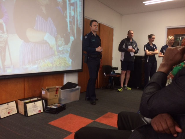 Victoria Police Speaking Engagement
